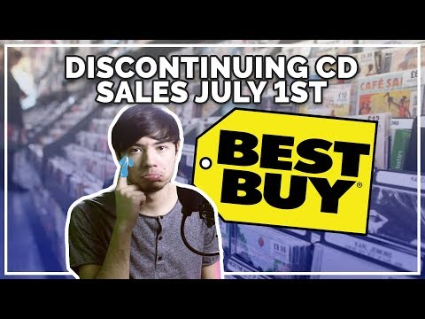 The End Of Physical Music Distribution? (Best Buy Discontinuing CD's)