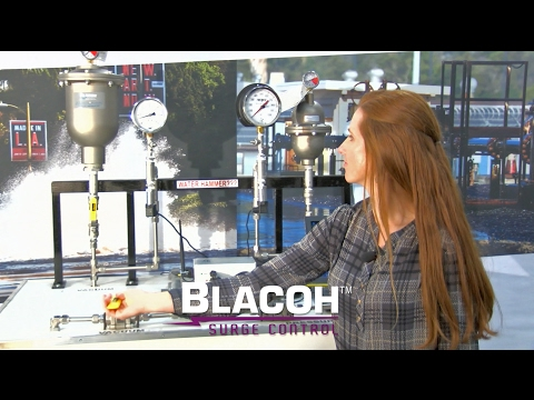 Water Hammer Demonstration with Blacoh SurgeWave Transient Monitoring System