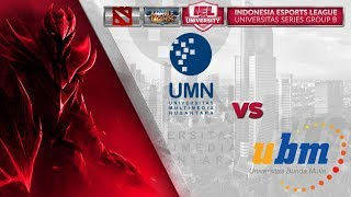 UNIV MULTIMEDIA NUSANTARA VS UNIV BUNDA MULIA @IEL 2019: University Series (MLBB - DOTA 2)