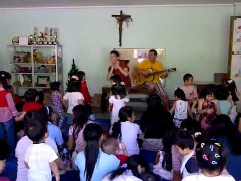 lagu rohani anak sekolah minggu - kingkong badannya besar