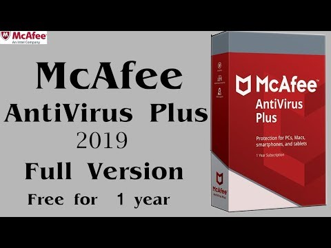 McAfee AntiVirus Plus 2019  Ll  Full Version For Free Ll  Windows 7,8,10  Ll 100%. Working Ll