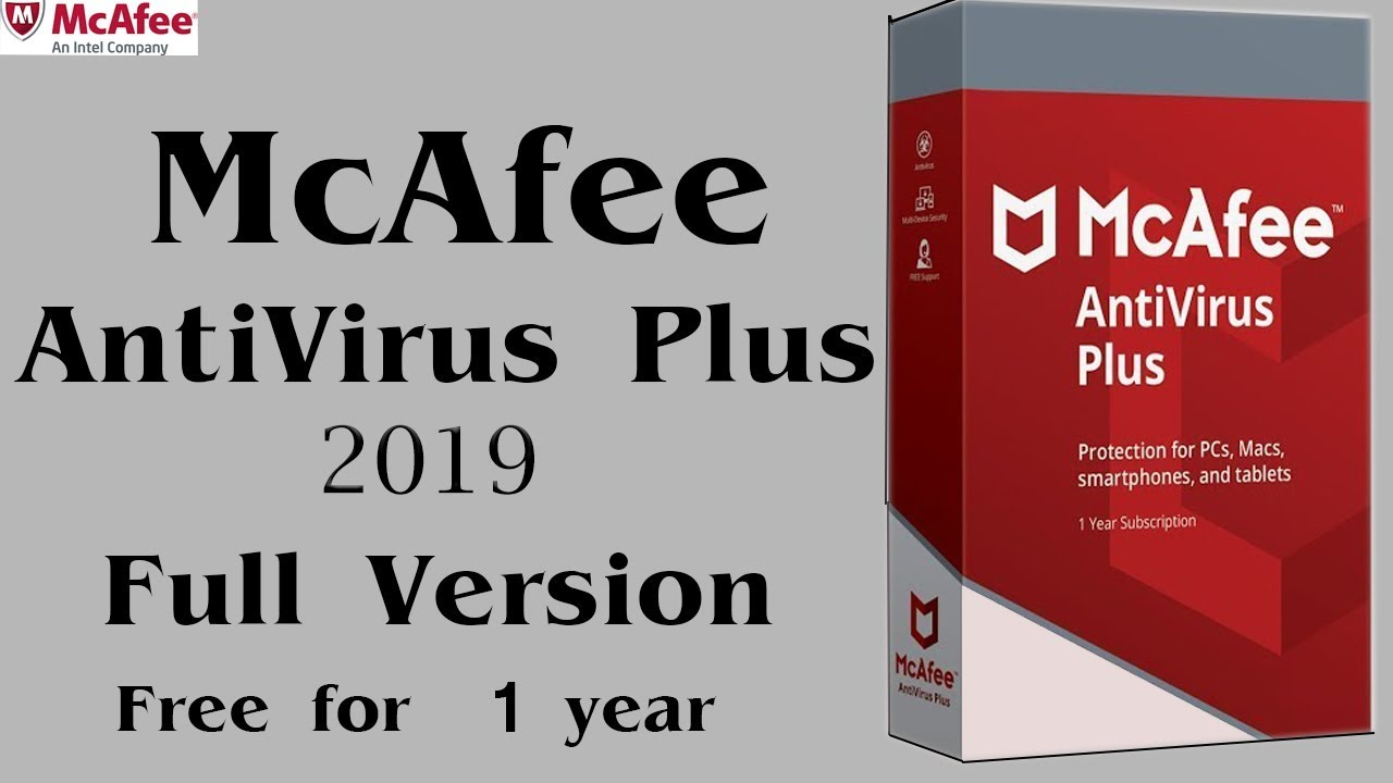 free download mcafee antivirus software for pc