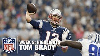 Tom Brady Highlights (Week 5)   Patriots vs. Cowboys   NFL