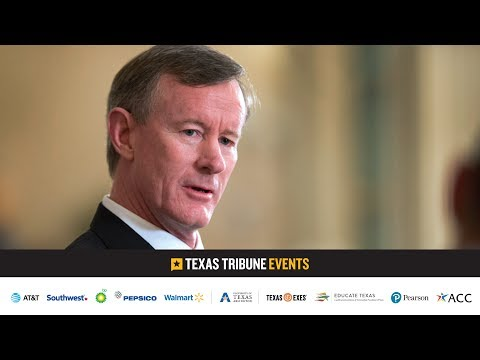 A conversation with William McRaven, chancellor of the University of Texas system.