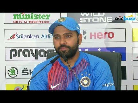 Dinesh Karthik was quite upset that he didn't bat at six - Rohit Sharma