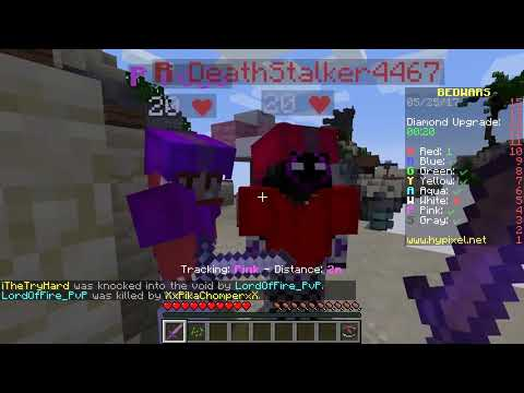 Minecraft BED WARS! | RED BED REDEMPTION! (Minecraft Bed Wars Minigame)
