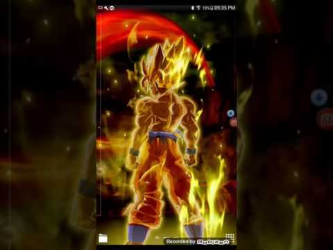 dbz live wallpaper  Goku Live Wallpaper - YouTube