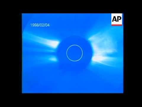 NASA: ANIMATED SIMULATION OF SOLAR ECLIPSE