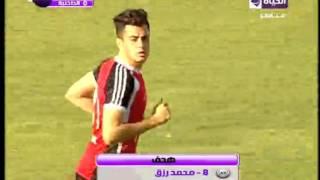 شاهد محمد رزق لاعب الأهلي المعار يحرز هدف عالمي في شباك  الداخلية