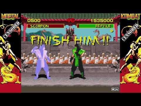 Mortal Kombat All Reptile Fatalities Ever Made