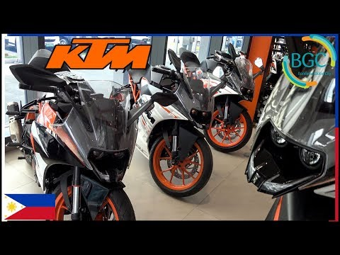 KTM -  Bonifacio Global City - KTM 390