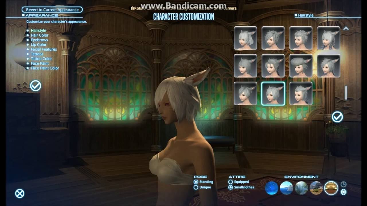 how to change hair style in ffxiv
