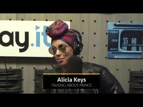Alicia Keys talks about Prince - Rap Radar Podcast