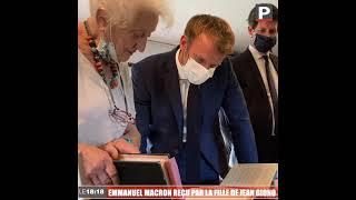 À Manosque vendredi, Emmanuel Macron a visité la maison de Jean Giono