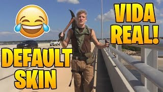 TFUE does COSPLAY DE FORTNITE IN REAL LIFE!! - Fun Moments in Fortnite