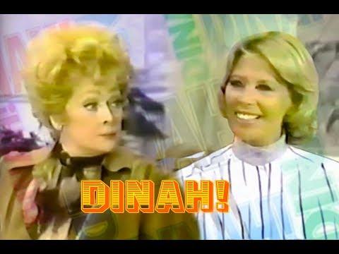 Dinah Shore  w Lucille Ball  1977