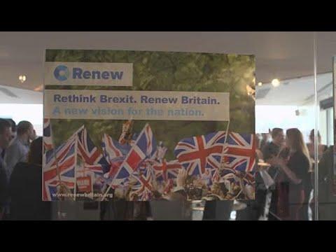 """""""Renovação"""": o novo partido anti-Brexit"""
