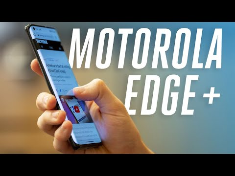 Motorola Edge Plus hands-on: back in the game
