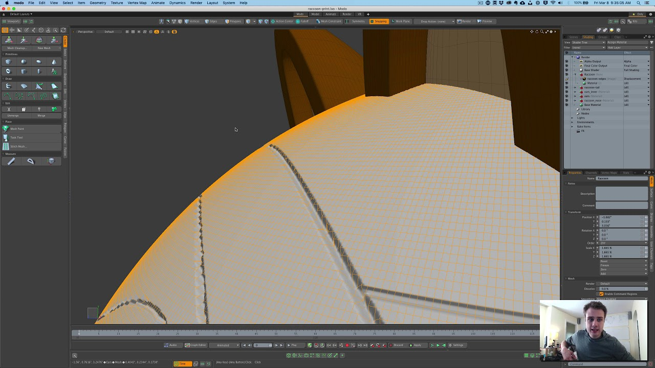 Bake Displacement Problem Foundry Community