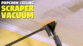 Popcorn Ceiling Scraper With Vacuum
