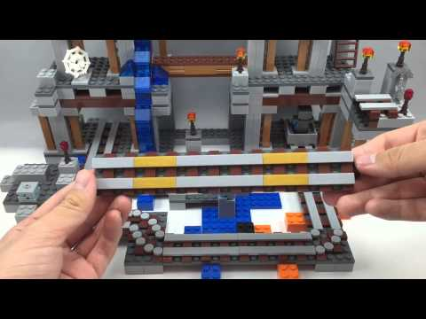 LEGO Minecraft The Mine Review 21118