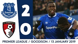 ZOUMA NETS THUMPING HEADER! | EVERTON 2-0 BOURNEMOUTH
