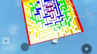 ROBLOX: How to pass the maze on really easy obbeys