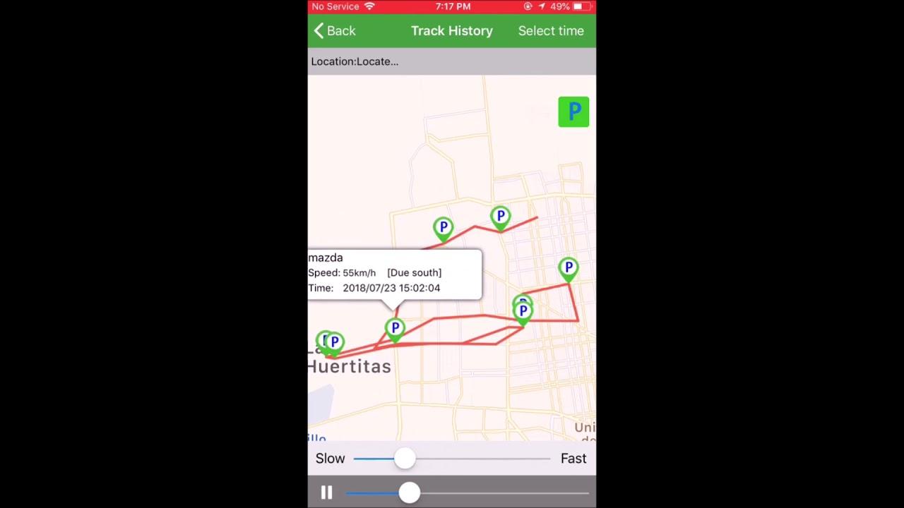 USO DE LA APLICACION DAGPS PARA GPS TRACKER