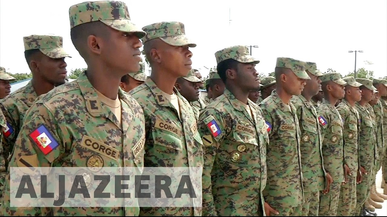Haiti's plans to revive army draw concern