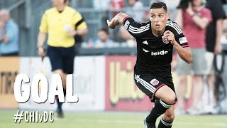 GOAL: Luis Silva with a beauty into the top corner | Chicago Fire vs. D.C. United