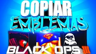 COMO ROBAR/COPIAR EMBLEMAS EN CALL OF DUTY BLACK OPS 2