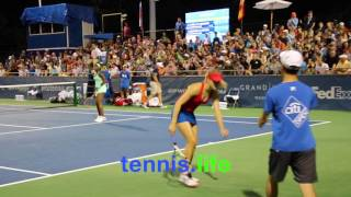 Bouchard and Stephens shock the doubles world