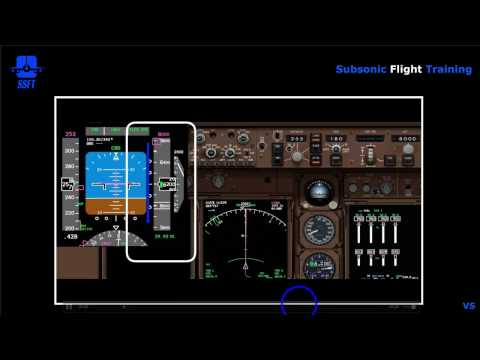 EFIS PFD Altitude & Vertical Speed Displays (iFly 747-400)