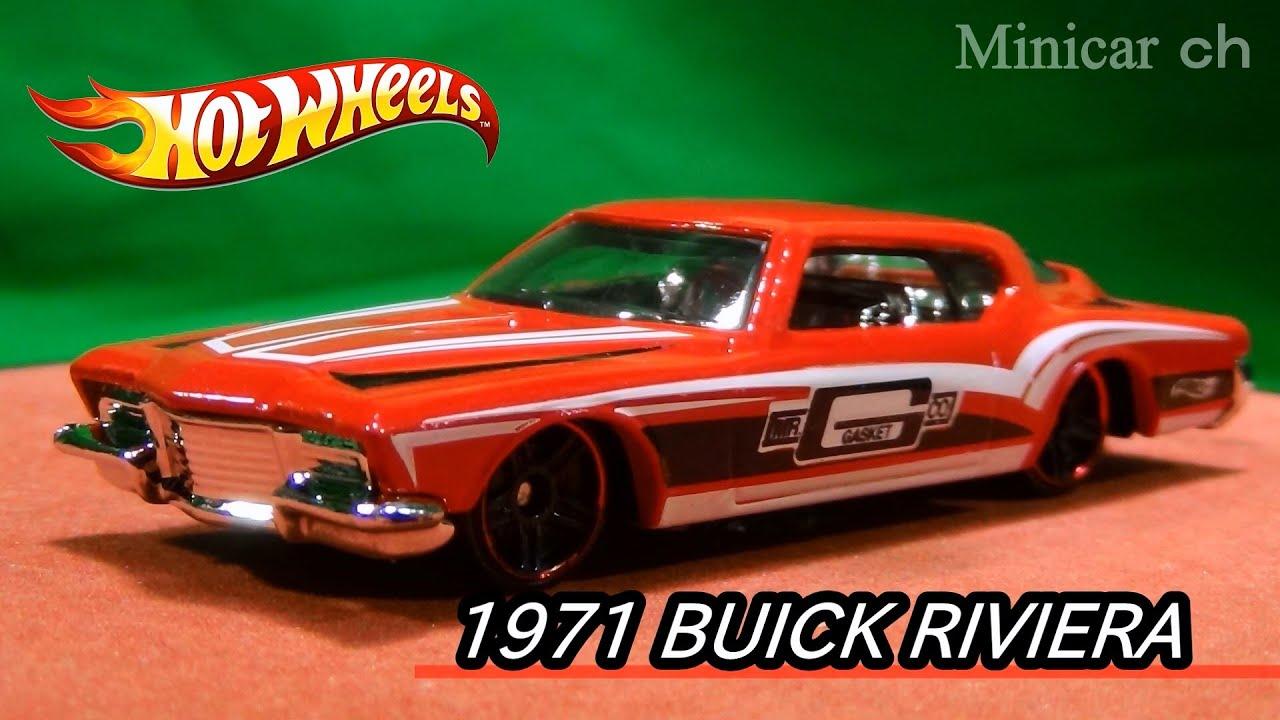 Hot Wheels 1971 Buick Riviera Youtube