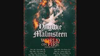 Yngwie Malmsteen 2017-10-25 Worcester Palladium Worcester Ma
