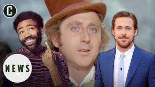 Donald Glover, Ryan Gosling Lead Willy Wonka Shortlist - Exclusive