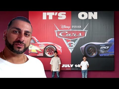 Cars 3 Movie UK Premiere VLOG with 'Yiannimize Kids'