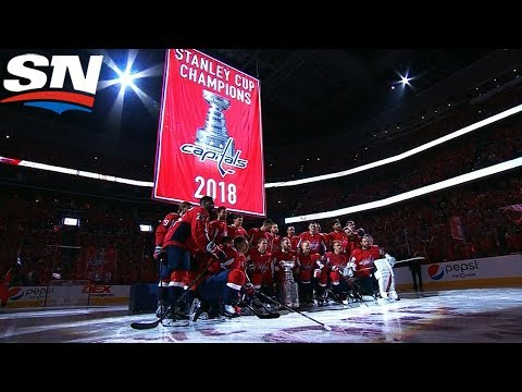 Wait is Finally Over As Capitals Raise Stanley Cup Banner