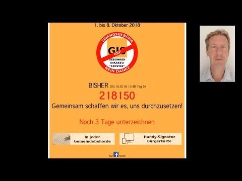 Petition gegen ORF 200.000+ Unterzeichner! Vera Lengsfeld Erklärung 2018, epetitionen.bundestag.de
