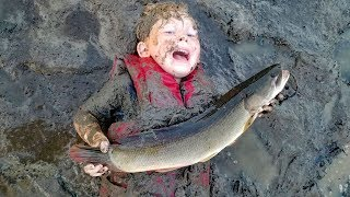 Catch & Cook Bowfin (aka Mudfish, choupique, grinnel, dogfish) - How to catch bowfin