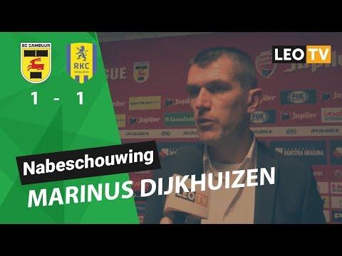 Nabeschouwing Marinus Dijkhuizen Cambuur - RKC