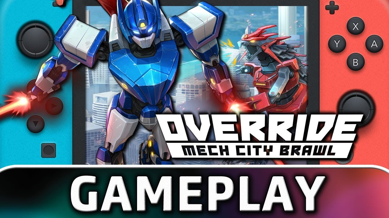 Override: Mech City Brawl   First 10 Minutes on Nintendo Switch