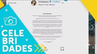 Irina Baeva le respondió en Instagram a Geraldine Bazán   Un Nuevo Día   Telemundo