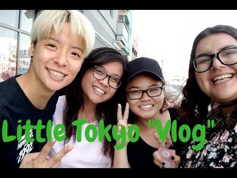 "Meeting Amber Liu from F(x)! | Little Tokyo ""Vlog"""