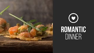 Salmon Tartare With Avocado On Parmesan Chips || Party Food || Gastrolab