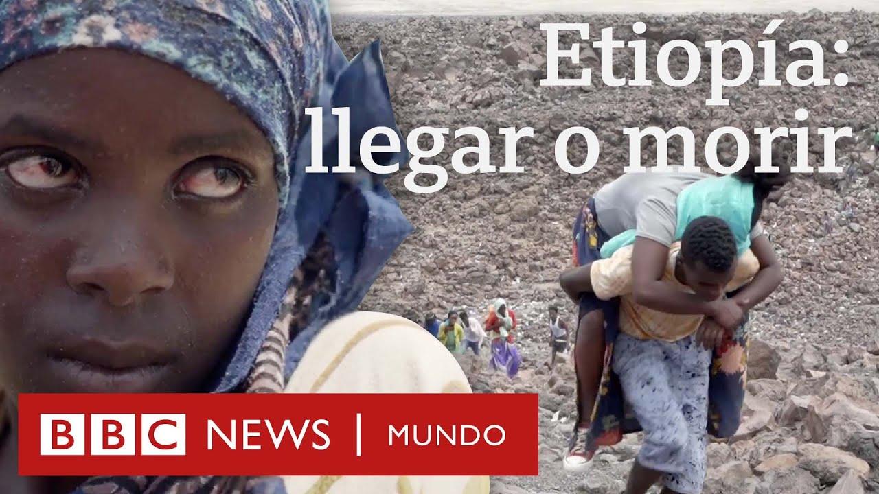 Los miles de etíopes que atraviesan un desierto y una guerra para huir del hambre y la pobreza