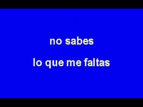 karaoke -CUIDARTE EL ALMA - CHAYANNE