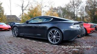 Aston Martin DBS w/ Quicksilver exhaust - Amazing sound!! 1080p HD