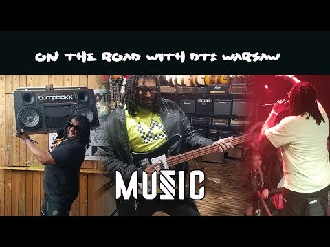 On The Road With DT The Artist: Warsaw Edition (Music Segment) VLOG Episode 1
