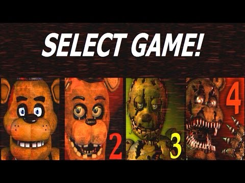 Five Nights at Freddy's 1-4 Jumpscare Simulator (1, 2, 3, 4 Jumpscares)